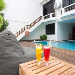 Отель Kam Hotel Мальдивы, Северный атолл Мале - отзывы, цены и фото номеров - забронировать отель Kam Hotel онлайн бассейн фото 2