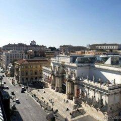 Отель ESPOSIZIONE Рим балкон