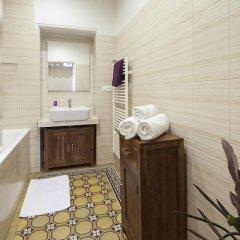 Отель Old Town - Dusni Apartments Чехия, Прага - отзывы, цены и фото номеров - забронировать отель Old Town - Dusni Apartments онлайн ванная фото 2