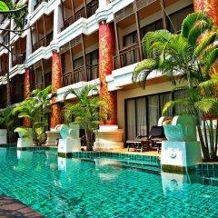 Отель kasalong resort бассейн