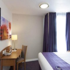 Отель Premier Inn London Euston комната для гостей