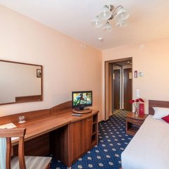 АЗИМУТ Отель Нижний Новгород 4* Стандартный номер с различными типами кроватей фото 5