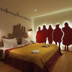Отель Drei Raben Германия, Нюрнберг - отзывы, цены и фото номеров - забронировать отель Drei Raben онлайн комната для гостей фото 5