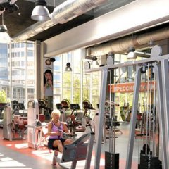 Corona Hotel & Apartments фитнесс-зал