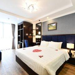 Отель Hanoi Bella Rosa Trendy Hotel Вьетнам, Ханой - отзывы, цены и фото номеров - забронировать отель Hanoi Bella Rosa Trendy Hotel онлайн комната для гостей фото 4