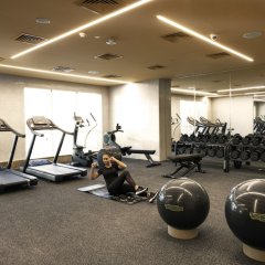 Отель Stella Di Mare Dubai Marina фитнесс-зал