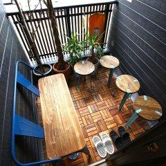 Nekokura Hostel Фукуока балкон