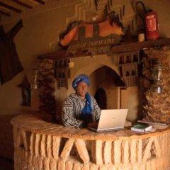 Отель Kasbah Bivouac Lahmada Марокко, Мерзуга - отзывы, цены и фото номеров - забронировать отель Kasbah Bivouac Lahmada онлайн интерьер отеля фото 3