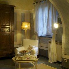 Отель Relais Castello San Giuseppe Кьяверано в номере