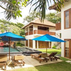 Отель Bali baliku Private Pool Villas бассейн фото 3