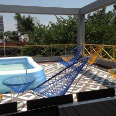 Отель Hostal Nacional Мексика, Гвадалахара - отзывы, цены и фото номеров - забронировать отель Hostal Nacional онлайн бассейн фото 2