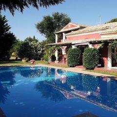 Отель Villa De Loulia Греция, Корфу - отзывы, цены и фото номеров - забронировать отель Villa De Loulia онлайн бассейн фото 3