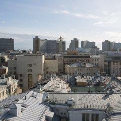 Апартаменты Arbat House Apartments on Bolshaya Nikitskaya балкон