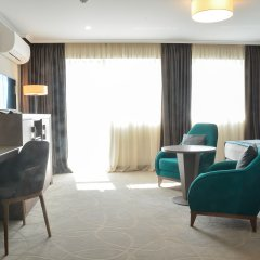 Отель Interhotel Cherno More комната для гостей фото 3