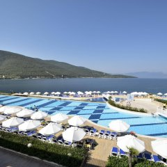 La Blanche Island Hotel пляж