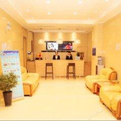 Отель Jinshang Time Hotel (Xi'an Jixiang Road branch) Китай, Сиань - отзывы, цены и фото номеров - забронировать отель Jinshang Time Hotel (Xi'an Jixiang Road branch) онлайн интерьер отеля фото 2