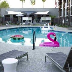 Отель MOXY Phoenix Tempe/ASU Area бассейн