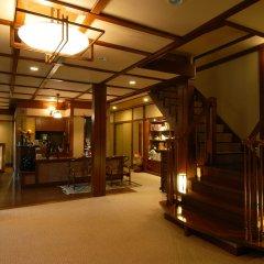 Отель Kashiwaya Ryokan Shima Onsen интерьер отеля