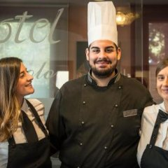 Отель San Paolo Италия, Кампозампьеро - отзывы, цены и фото номеров - забронировать отель San Paolo онлайн интерьер отеля