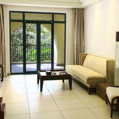 Апартаменты Tujia Sweetome Vacation Apartment Yalong Bay комната для гостей фото 2