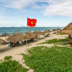 Tran Family Villas Boutique Hotel пляж фото 2