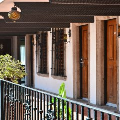 Hotel Posada Guadalajara балкон