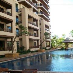 Отель Harmony Service Residence Паттайя бассейн