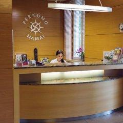 Отель Perkuno Namai Hotel Литва, Каунас - 2 отзыва об отеле, цены и фото номеров - забронировать отель Perkuno Namai Hotel онлайн интерьер отеля фото 2