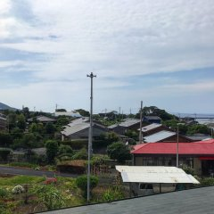 Minshuku Yakushima - Hostel Якусима балкон
