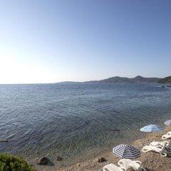 Отель Aurora Hotel Греция, Корфу - 1 отзыв об отеле, цены и фото номеров - забронировать отель Aurora Hotel онлайн пляж фото 2