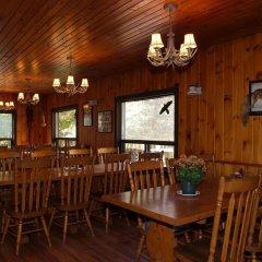 Отель Algonquin Eco-Lodge питание