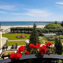 Отель Sofitel Grand Sopot Польша, Сопот - отзывы, цены и фото номеров - забронировать отель Sofitel Grand Sopot онлайн пляж фото 2