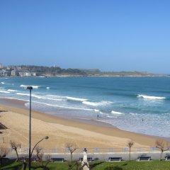 Hotel Silken Rio Santander пляж