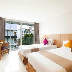 Отель Andaman Beach Suites Hotel Таиланд, Пхукет - 8 отзывов об отеле, цены и фото номеров - забронировать отель Andaman Beach Suites Hotel онлайн комната для гостей фото 2