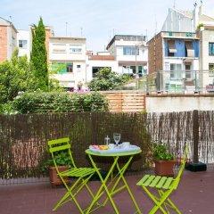 Отель Incredible Loft With Private Terrace Барселона балкон