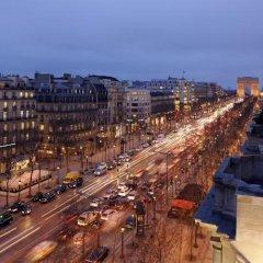 Paris Marriott Champs Elysees Hotel Париж городской автобус