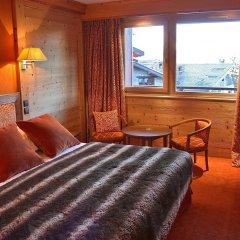 Hotel Carlina Courchevel комната для гостей