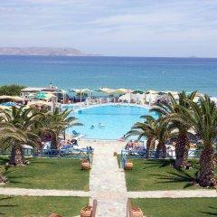 Отель Mitsis Rinela Beach Resort & Spa - All Inclusive пляж фото 2
