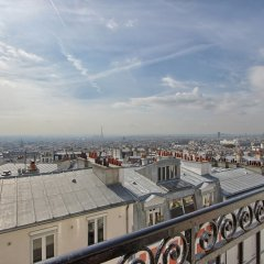 Отель Timhotel Montmartre Париж балкон