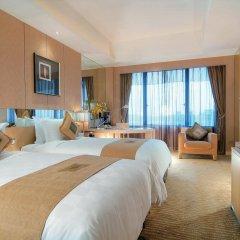 Отель Pan Pacific Xiamen Китай, Сямынь - отзывы, цены и фото номеров - забронировать отель Pan Pacific Xiamen онлайн комната для гостей фото 5