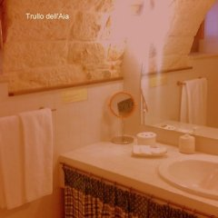 Отель Miratrulli & Trullo dell'Aia Альберобелло сауна