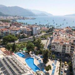 Отель Halici Otel Marmaris пляж фото 2
