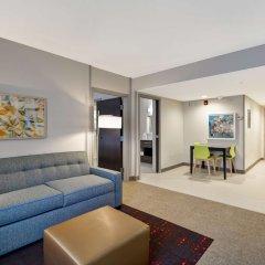 Отель Home2 Suites by Hilton Columbus Airport East Broad США, Колумбус - отзывы, цены и фото номеров - забронировать отель Home2 Suites by Hilton Columbus Airport East Broad онлайн комната для гостей фото 5