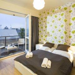 Отель New Town - Apple Apartments Чехия, Прага - 1 отзыв об отеле, цены и фото номеров - забронировать отель New Town - Apple Apartments онлайн комната для гостей фото 4