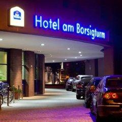 Hotel am Borsigturm парковка