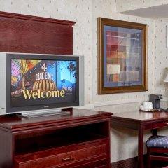 Отель Four Queens Hotel and Casino США, Лас-Вегас - отзывы, цены и фото номеров - забронировать отель Four Queens Hotel and Casino онлайн удобства в номере
