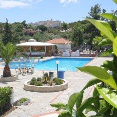 Отель Hilltop Hotel Греция, Ханиотис - отзывы, цены и фото номеров - забронировать отель Hilltop Hotel онлайн бассейн фото 3