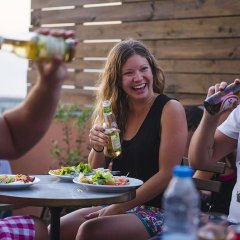 Laneez Ericeira Surf House - Hostel гостиничный бар