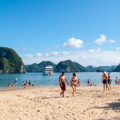 Отель Halong Lavender Cruises пляж фото 2