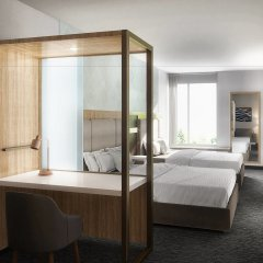 Отель SpringHill Suites by Marriott Columbus Easton Area США, Колумбус - отзывы, цены и фото номеров - забронировать отель SpringHill Suites by Marriott Columbus Easton Area онлайн комната для гостей фото 3